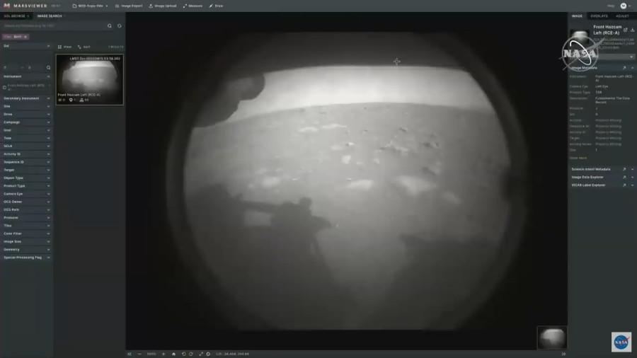 Perseverance совершил успешную посадку на Марс