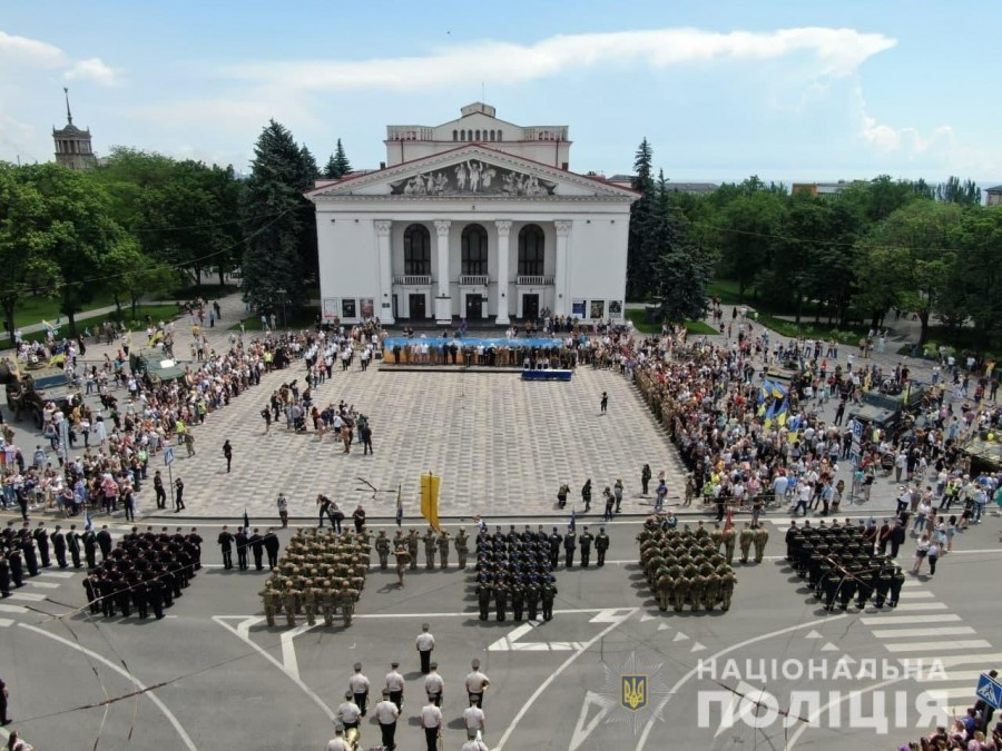 Марш освобождения Мариуполя