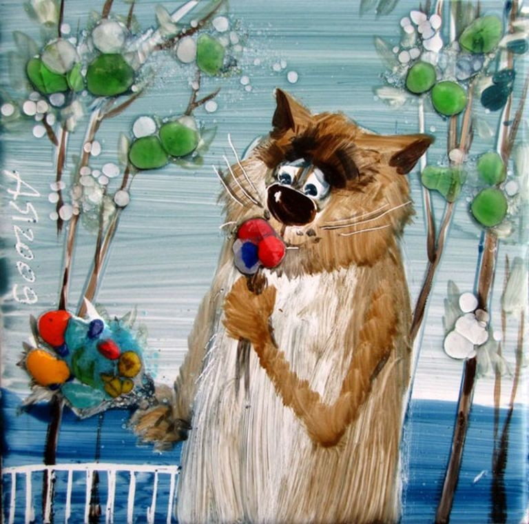 Мартовский кот в картинках
