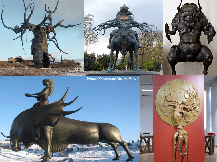 Работы Намдакова