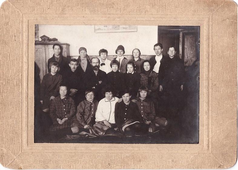 1. Раненбург январь 1930 г. 7 класс