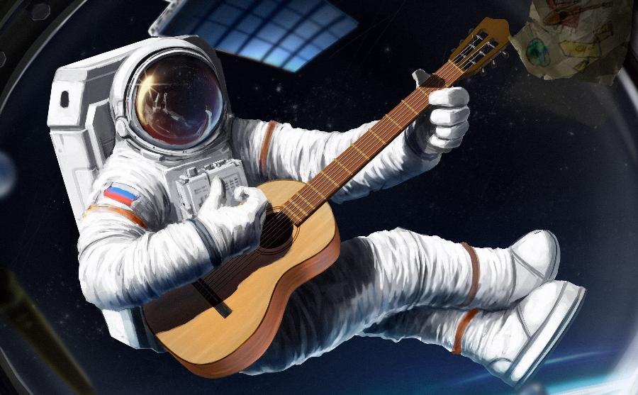 Юра, мы всё спели: 12 космических песен