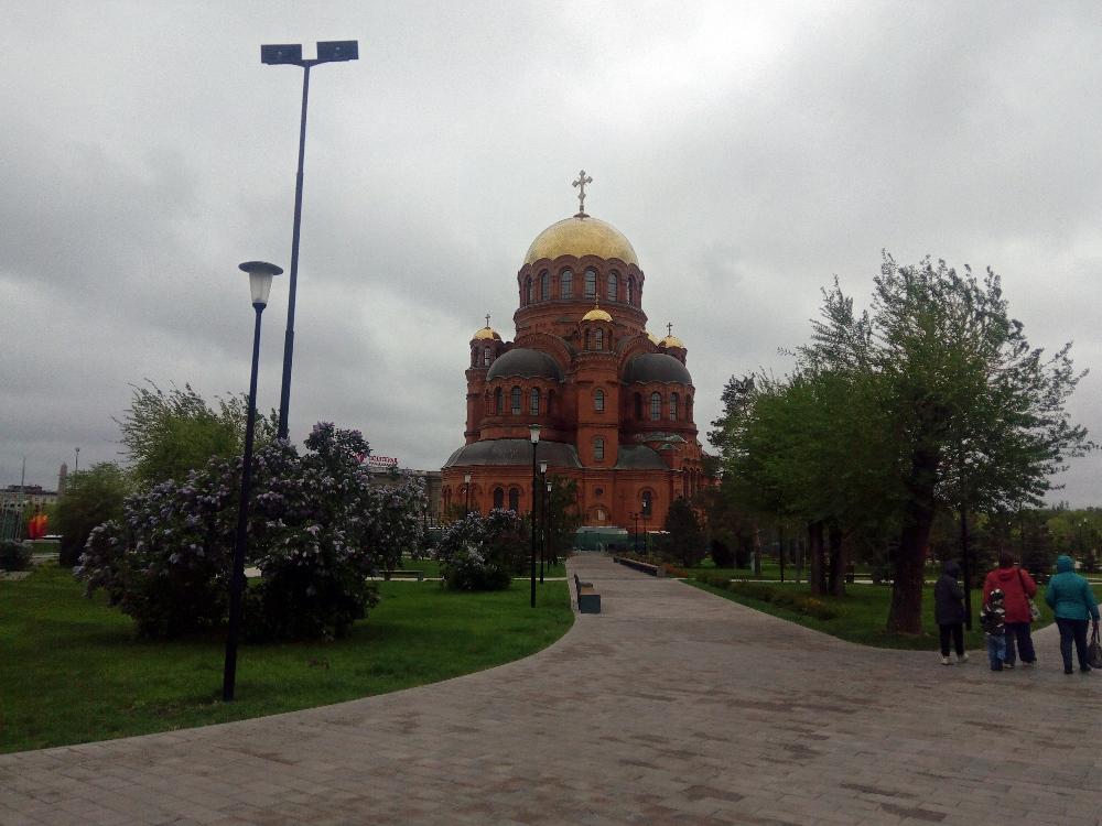Собор Александра Невского (не спрашивайте, при чём тут Волгоград, сам не понимаю)