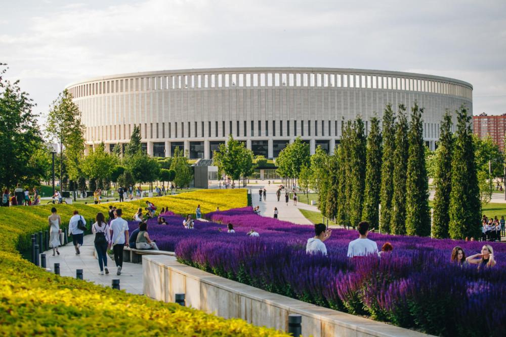 """Стадион и парк """"Краснодар"""" — новые символы города, которые появились уже при нас"""
