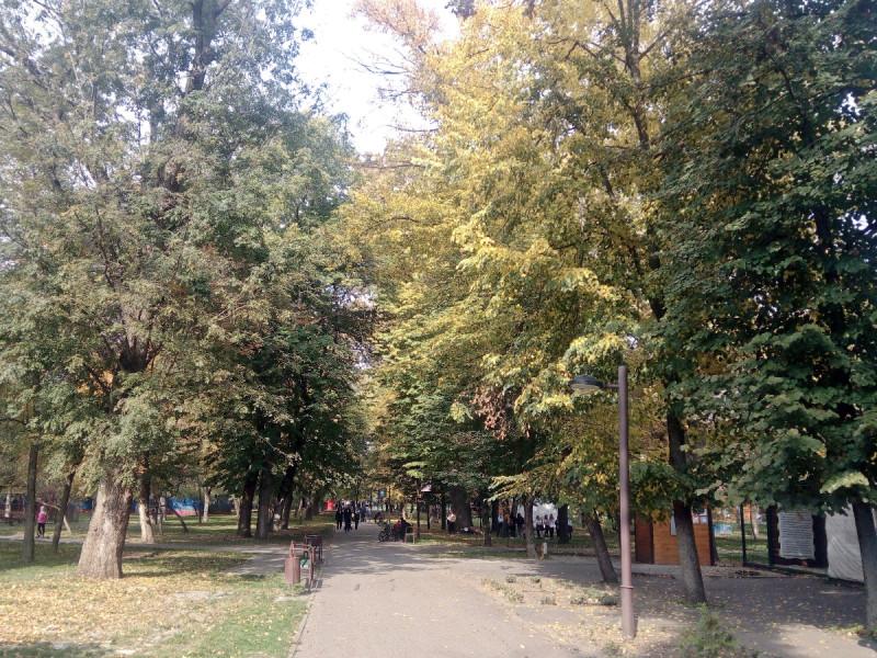 Краснодар, Чистяковская роща, 16.10.2021