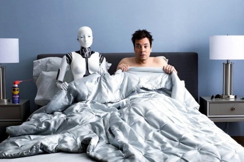 Смотреть секс с роботами 20 фотография