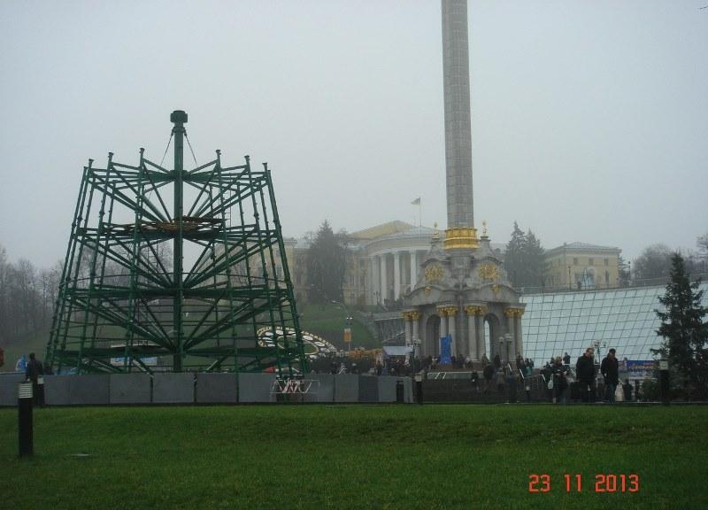 Евромайдан в Киеве. Это уже похоже на правду