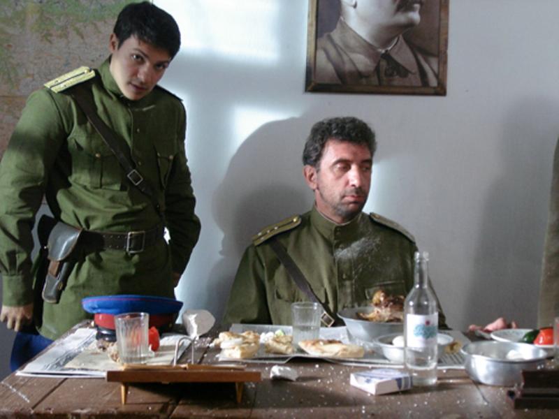 Чеченский фильм про русского солдата детоубийцу.