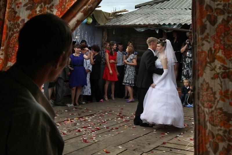 Свадьбы в селе новые