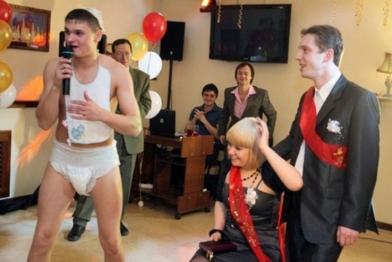 Самые ужасные конкурсы на свадьбу