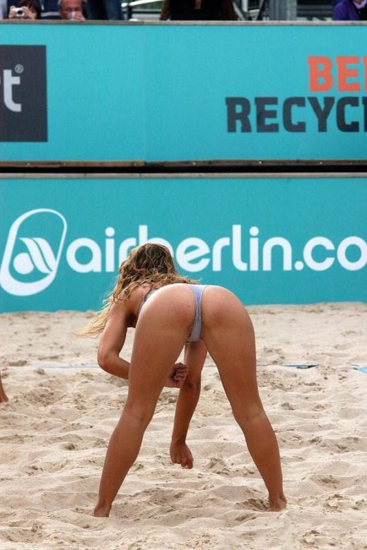 Эротика напляжном волейболе фото 18-304