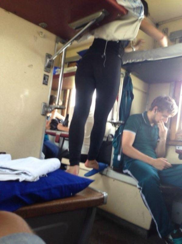 в поезде можно увидеть много интересного фото