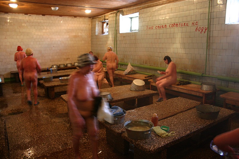 фото в женских банях