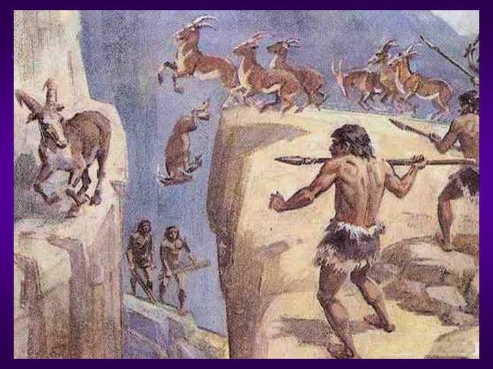 Охота древнего человека картинки