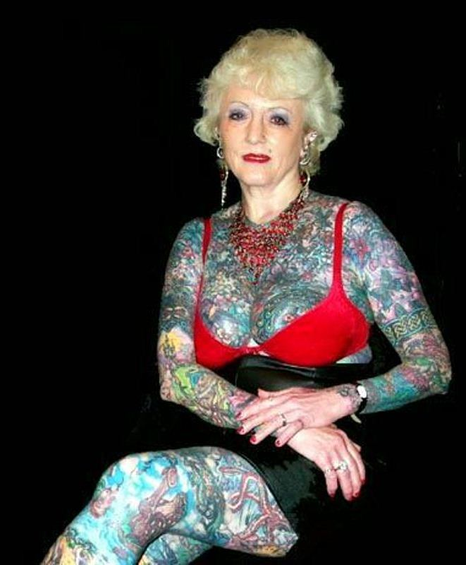 Бабушкины татуировки
