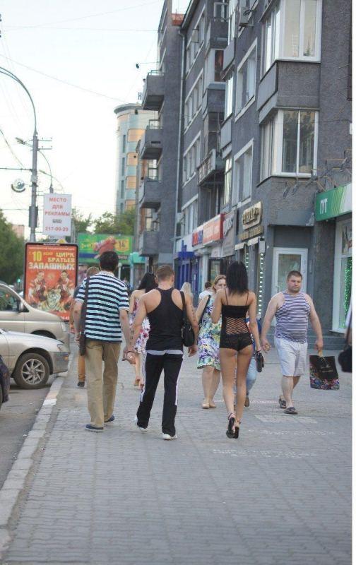 Девушка из Новосиба