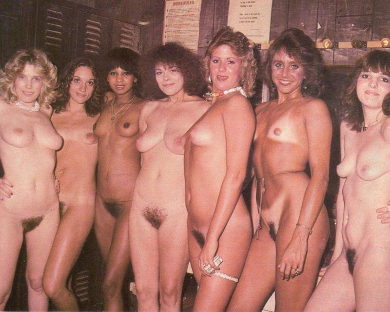 ретро много голых теток - 4