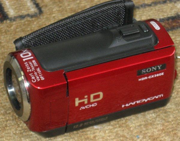 Опять китайская подделка, подделка Sony HDR-CX360E