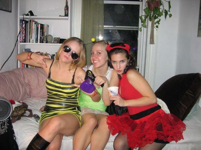 пьяные женщины на вечеринках - 7