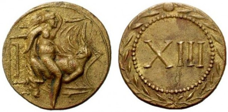 На территории Неаполя обнаружен самый большой клад жетонов Древнего