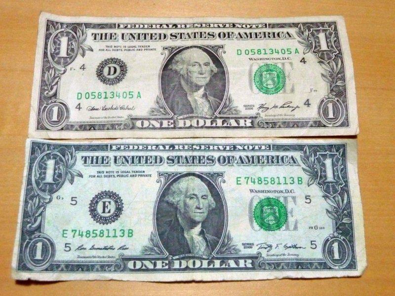 Как отличить поддельные доллары