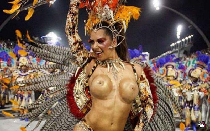 фото сисек бразильский карнавал