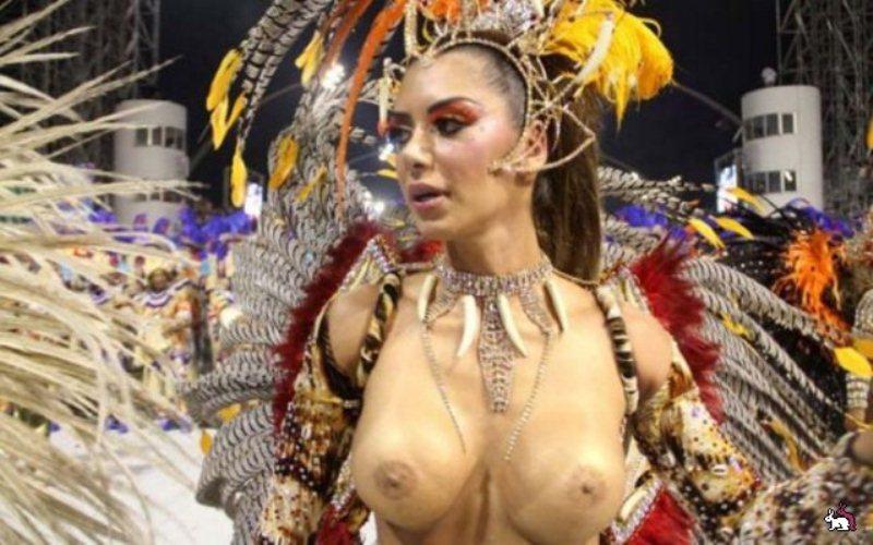 Порно видео оргии на бразильском карнавале