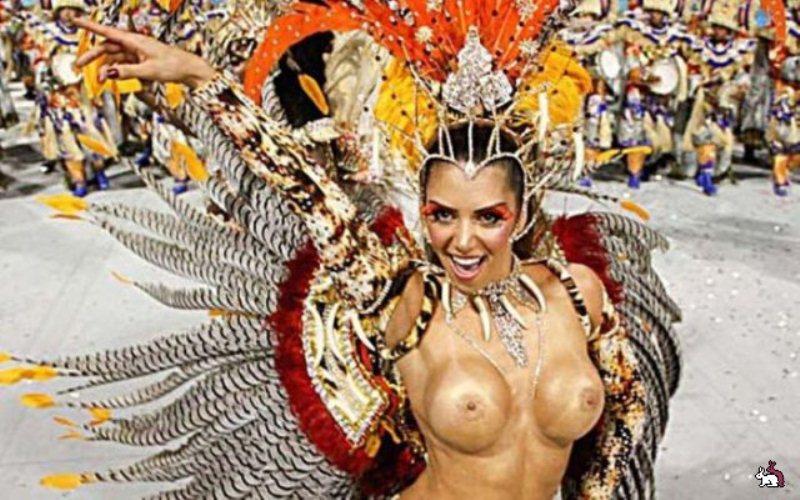 Оргии с карнавала в рио