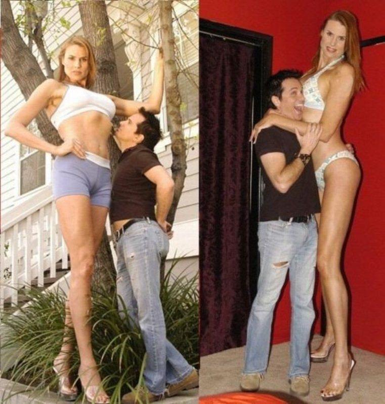 для секса лучше маленькая девушка или высокая