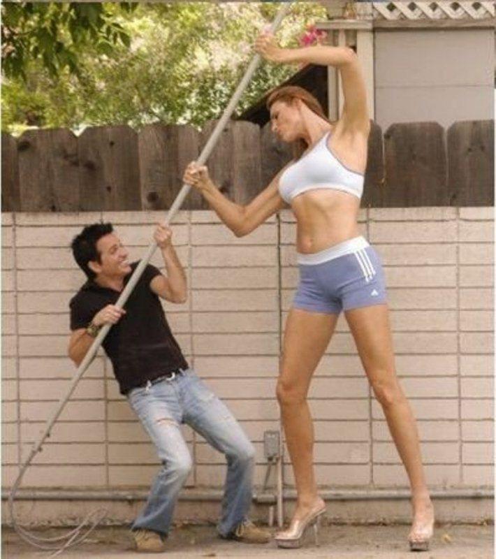 Самая высокая фотодевушка модель в мире работа для девушек в москве выезды
