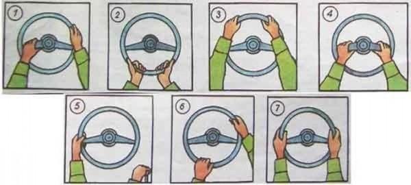 А как вы держите руль?