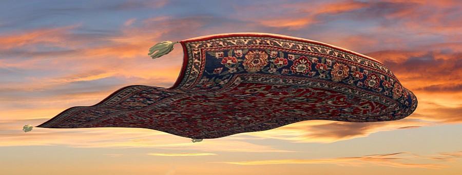 Как Стасик открыл нам тайну ковров-самолетов