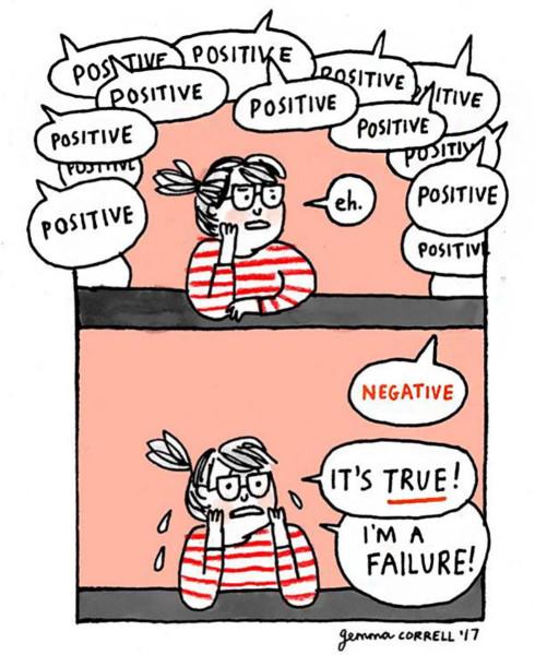 позитив и негатив