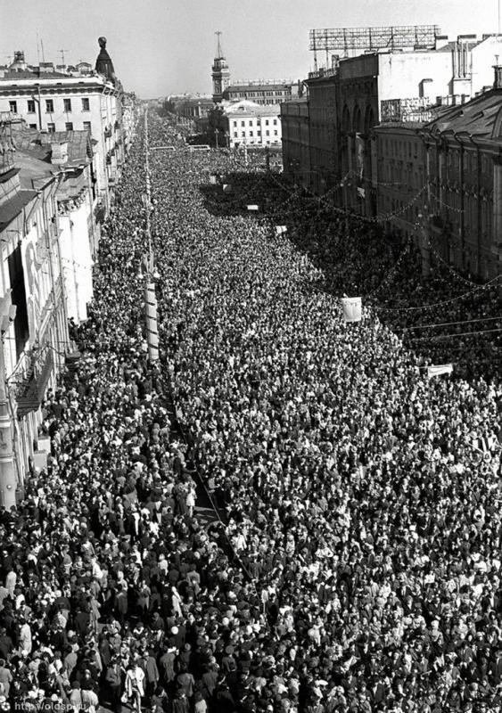 9 мая 1977 года Невский