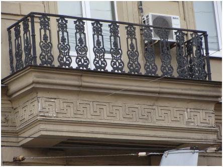Садовая, 36 балкон