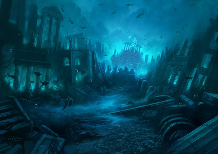 Куда исчезла гробница атланта?