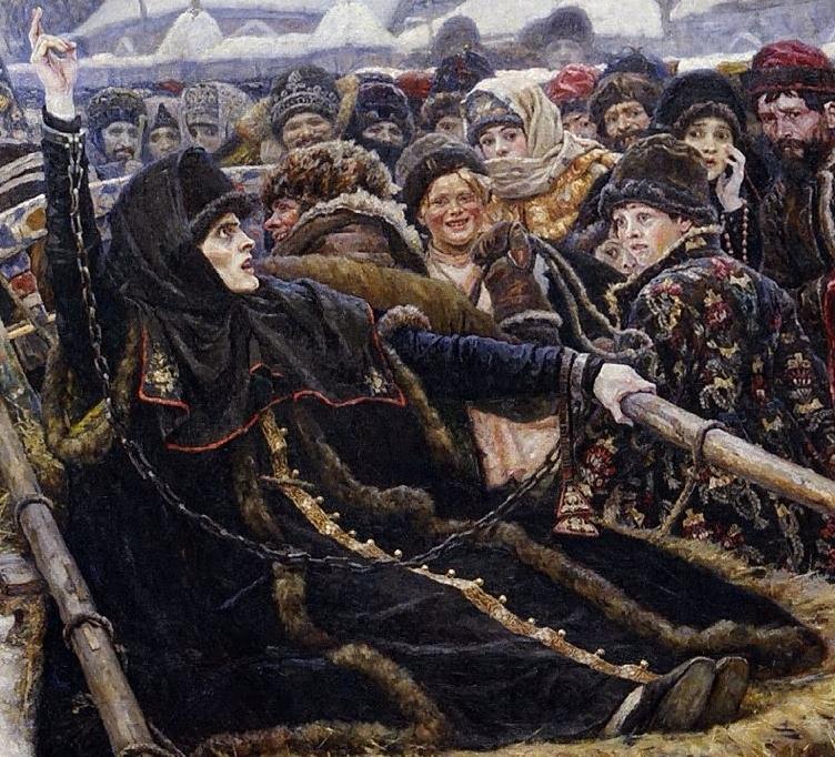 Boyaryna_Morozova_by_V.Surikov-1884-1887-Tretyakov