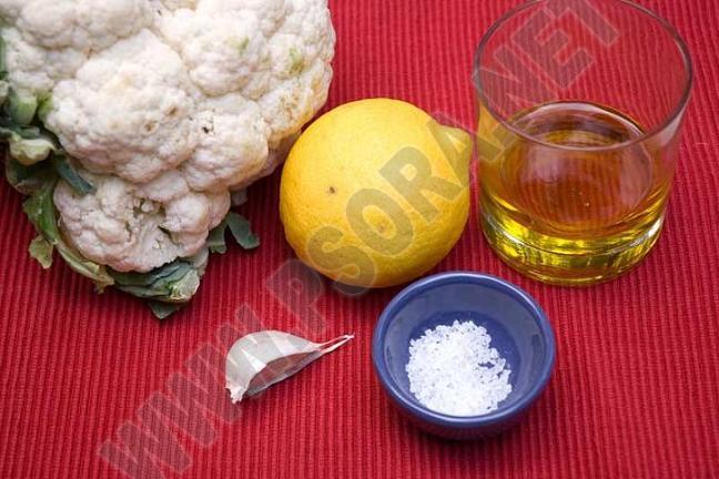 Лечение псориаза диетой. Питание по Пегано. Цветная капуста с чесноком