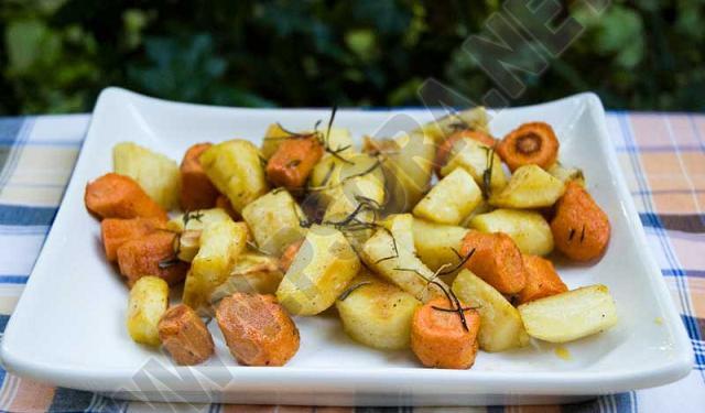 Лечение псориаза диетой. Питание по Пегано. Запеченные в духовке пастернак и морковка