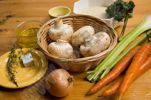 Лечение псориаза диетой. Питание по Пегано. Рис с грибами