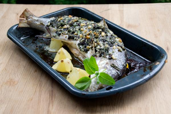 Рыба с базиликом 3