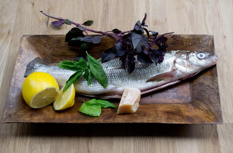 Рыба с базиликом 1