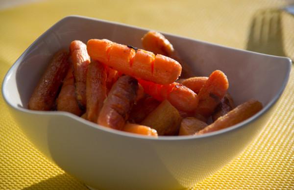 Морковка с имбирем