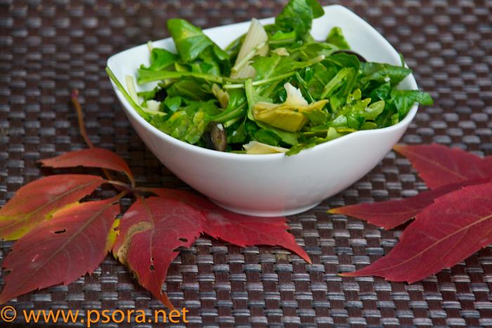Салат из артишок