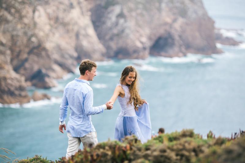 Медовый месяц в Португалии Александра и Виктории
