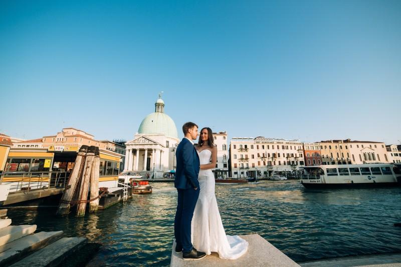 Свадьба в Венеции Александра и Юлии