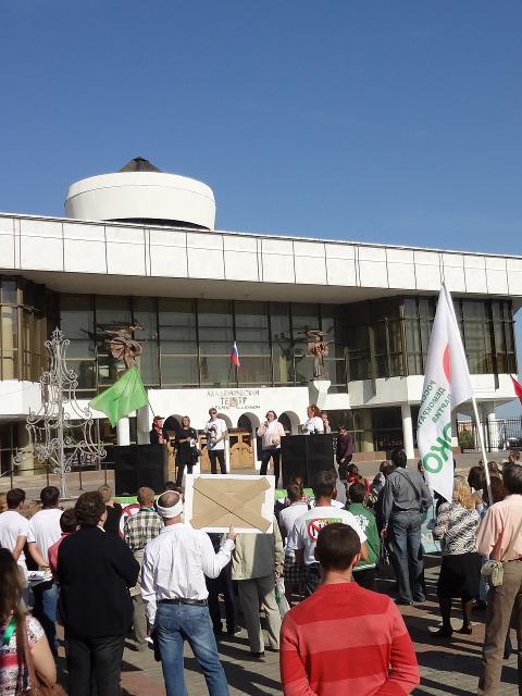 Гидробиолог Алла Силина из движения «В защиту Хопра»