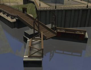 Criquette Ferry ramp