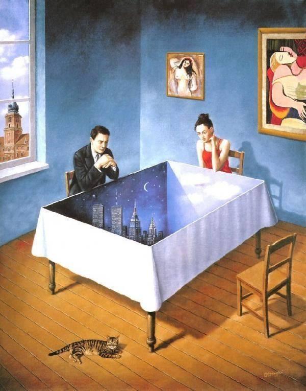 мир в столе