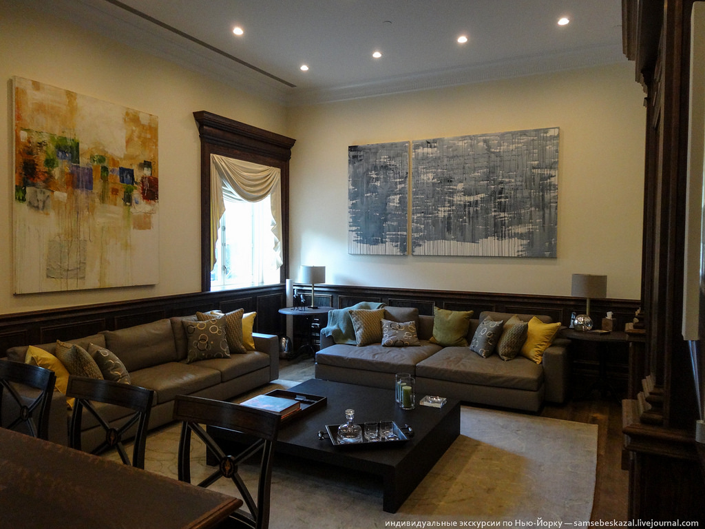 странное искусство в квартире за 25 млн долларов
